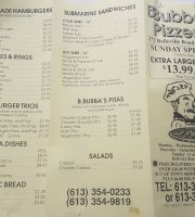 Bubba's Pizzeria & Restaurant