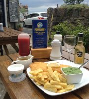 Lynmouth's Traditional Fish and Chips Fish on the Harbour