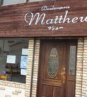 Boulangerie Matthew