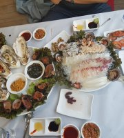 Okrim Female Diver Seafood Sashimi Restaurant