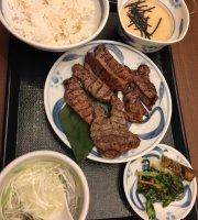 Beef Tongue Tororo Mugimeshi Negishi Shibuya 3-Chome