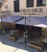 La Table Des Frangins Restaurant