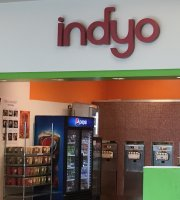 Indyo Frozen Yogurt, Coffee & Caramel Corn