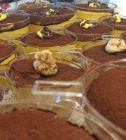 Two Sizes -Tiramisu in Rome-