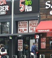 5 Burro Pizza