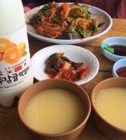 Dong Kim Nyeong Female Diver Jikyeong Sashimi Restaurant