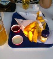 Cones & drinks.low cost bar