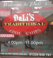 Dali's Traditional Fish And Chips