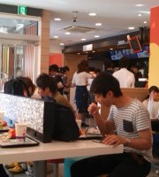 McDonald's Koshien stadium front
