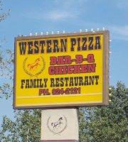 Western Pizza & BBQ Chicken