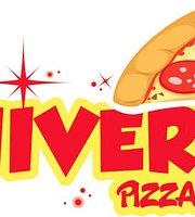 Universo gourmet - pizza en rebanadas