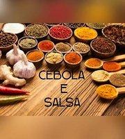 Cebola e salsa Rotisserie