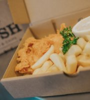 Posh Fish and Chips @ The Beehive