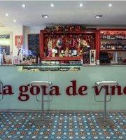 La gota de vino