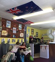 The Blitz tea room