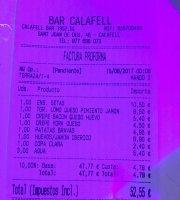 Bar Calafell