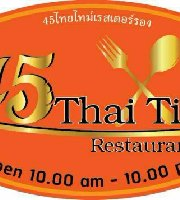 45Thai Time Restaurant