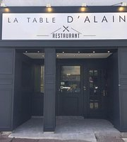 La Table d'Alain