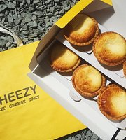 CHEEZY Baked Cheese Tart