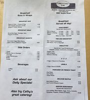 Cathy's Corner Cafe