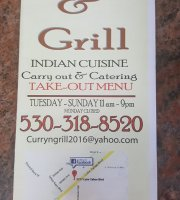 Curry & Grill - Cuisine of India