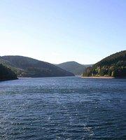 Waldbaude am Staudamm