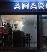 Amaro Textura y Aroma