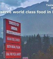 Taste Of India, Restaurant
