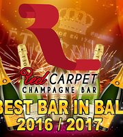 Red Carpet Champagne Bar
