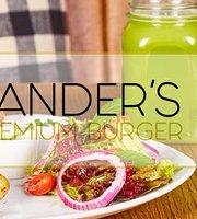 Sander's Premium Burger