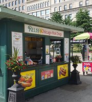 Relish Chicago Hot Dogs