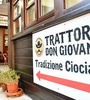 Trattoria Don Giovanni