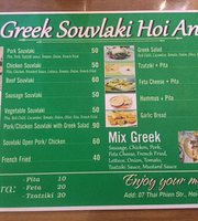 Greek Souvlaki Hoi An