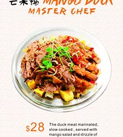 Mango Duck Master Chef