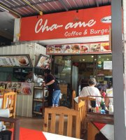 Cha-ame coffee and burger