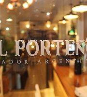 "Grill ""El Porteno"" steakhouse argentina"