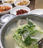 Haeundae Korean Tile House Spicy Cod Soup
