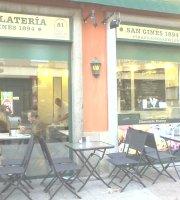 Chocolatería San Ginés y sus delicias