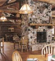 Dining Room in Mecan River Outfitters & Lodge