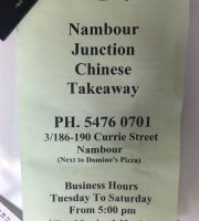 Nambour Junction Chinese Takeaway