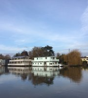 Eight on the River at Molesey Boat Club
