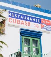 """Restaurante Cuba58 """"Al Sur"""""""