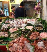 阿隆龜山島現撈海産