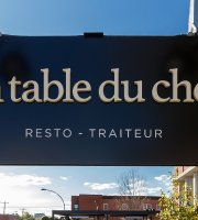 La table du chef