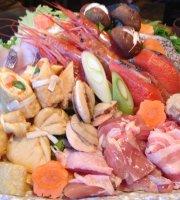 Japanese Vegetables Udon Kai