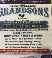 Fred Chason's Grandsons