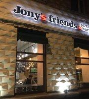Jony's friends. Pizza&burger
