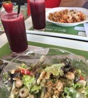 Viveza saladeria e alimentação saudável