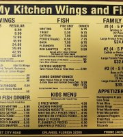 My Kitchen Wings & Fish
