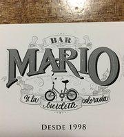 MARIO y la bicicleta colorada